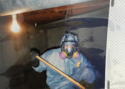 Crawlspace Water Damage Cleanup