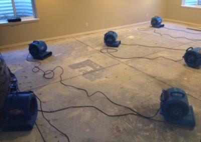Burst Pipe Basement Drying